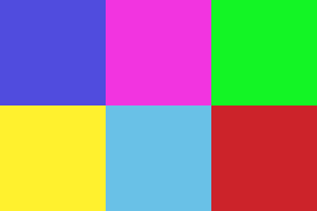 RGB Colors (what you see on screen)